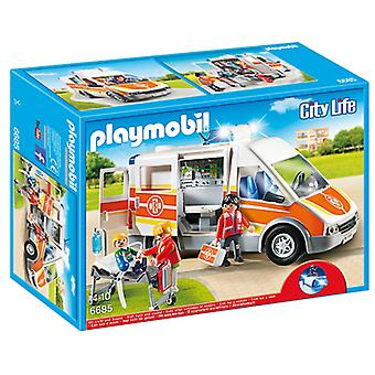 Playmobil 6685 Ambulance With Light And Sound