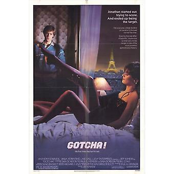 Impresión de Poster de pelicula Gotcha (27 x 40)