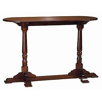 Pantal Table Twin Tall Poseur Wood Frame And Top Table
