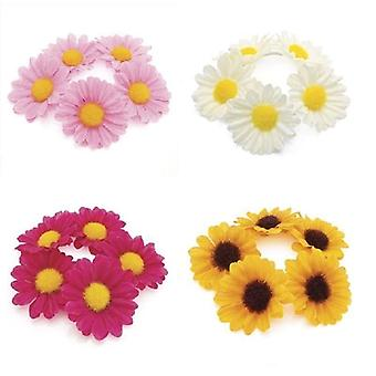 Flower hair elastic Various Colours