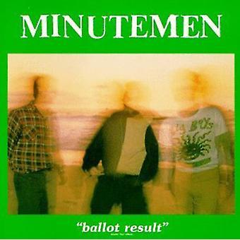 Minutemen - afstemning resultat [Vinyl] USA importerer
