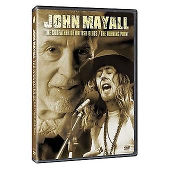 John Mayall - importation USA Godfather of British Blues [DVD]