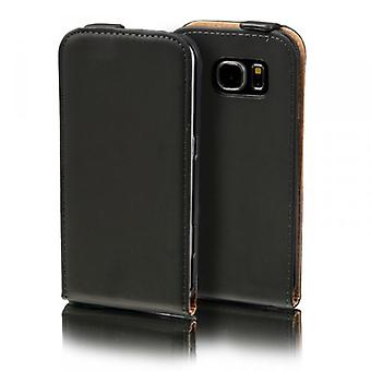 Flip Pocket Deluxe black for Samsung Galaxy S7 G930 G930F sleeve case pouch