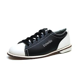 Bowling shoes - Bowlio classic - leather with leather sole
