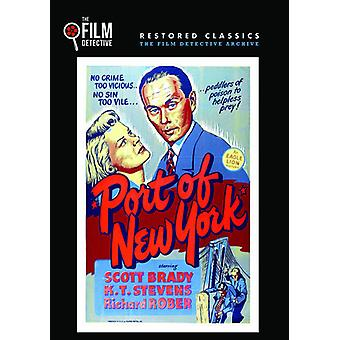 Port of New York [DVD] USA importerer