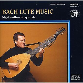 Nigel North - Bach lut musik [CD] USA import
