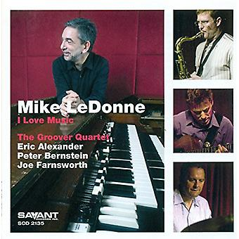 Mike Ledonne - jeg elsker musik [CD] USA import