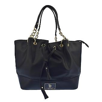 U.S. POLO ASSN. Handbag, handles large 23.5 cm 27-shrinkable 36x12x tie