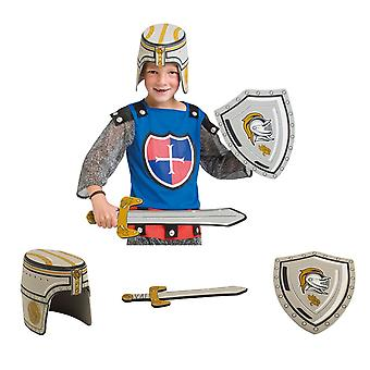 Knight weapons set 3 piece sword helmet shield foam rubber to the Knight costume