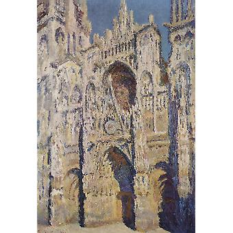 Claude Monet - The Church Poster Print Giclee