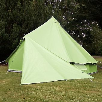 Boutique Camping Bell Tent Triangle Tarp - Apple Green