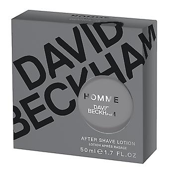 David Beckham Homme Aftershave Lotion 50ml Splash