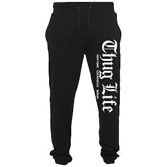 Thug Life CITIES sweatpants black