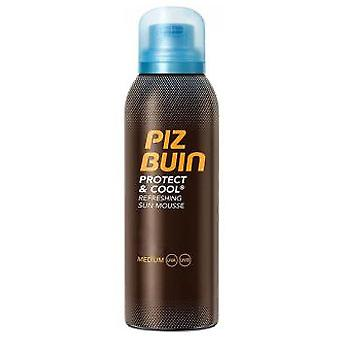 Piz Buin Protect & Cool Refreshing Sun Mousse Spf30 200 ml