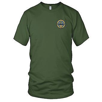 US Navy USS Paul DE-1080 Destroyer Escort Ship Embroidered Patch - Kids T Shirt