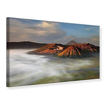 Canvas Print The Bromo Volcano