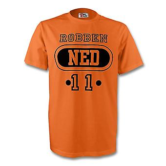 Arjen Robben Holland Ned T-shirt (orange)