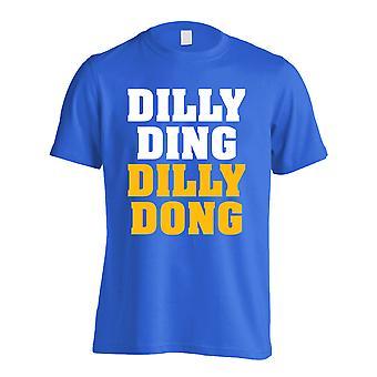 Leicester Claudio Ranieri Dilly Ding T-Shirt (niebieski)