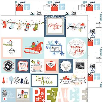 December Days Double-Sided Cardstock 12