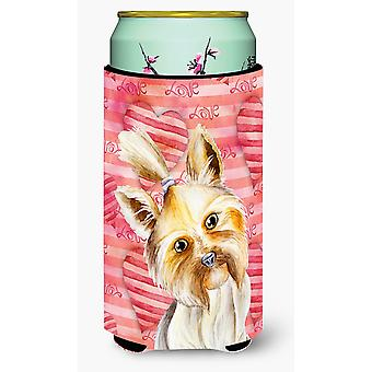 Yorkie Yorkshier Terrier Love Tall Boy Beverage Insulator Hugger