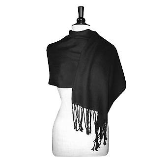Biagio 100% Wool Pashmina Solid Scarf Women's Shawl Wrap Scarves