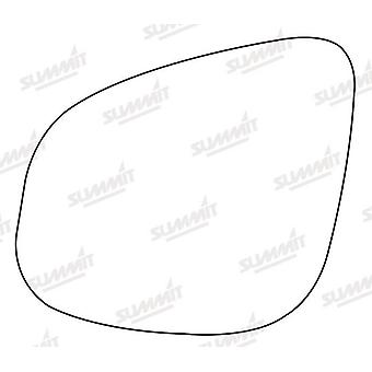 Left Stick-On Mirror Glass Easy to Fit For Renault KANGOO BE BOP 2012-2017