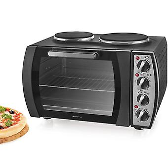 Emerio Stove with 2 cooking hobs En