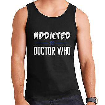 Addicted To Doctor Who Men's Vest