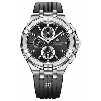Maurice Lacroix Mens Aikon Chronograph AI1018-SS001-330-2 Watch