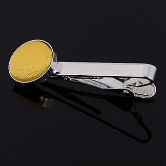 Krawattenklammer Gold Plain