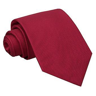Tango rood Panama klassieke zijden stropdas