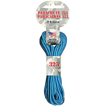 Parachute Cord 3mmX21'-Turquoise