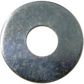 TOOLCRAFT 2,7 D9021:A2K 194721 Washers Inside diameter: 2.5 mm M2.5 DIN 9021 Steel zinc plated 100 pc(s)