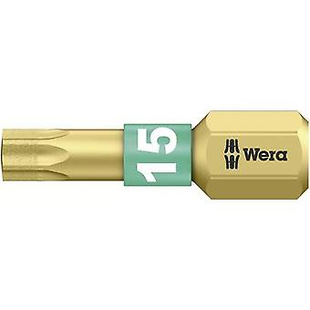 Torx bit T 15 Wera 867/1 BDC TX15X25 Tool steel al