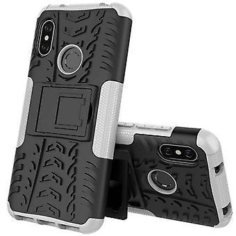 For Xiaomi MI A2 / MI 6 X hybrid case 2 piece SWL outdoor white bag case cover protection