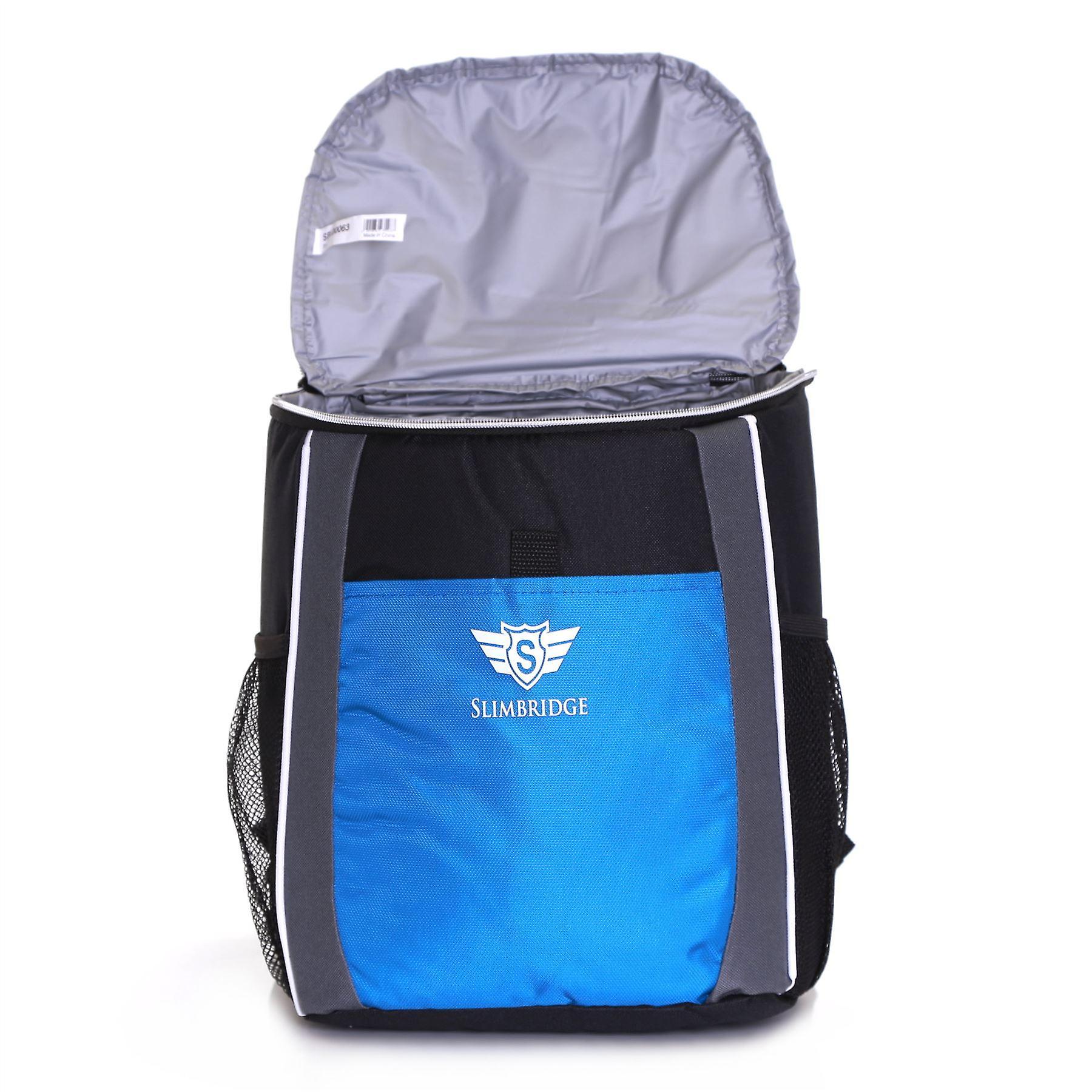Slimbridge Brean Insulated Picnic Backpack, Blue