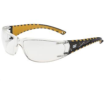 Caterpillar Mens Blaze Work Safety Glasses Spectacles White