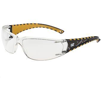 Męskie Caterpillar Blaze pracy okulary ochronne okulary biały