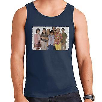 Retro The Wonder Years gegoten mannen Vest