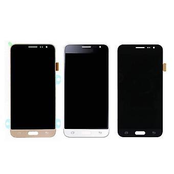 Roba certificata® Samsung Galaxy J3 2016 Display (LCD + Touch Screen + parti) A + qualità - nero / bianco / oro