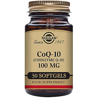 Solgar Coenzyme Q10 100 mg 30 Vegetable Capsules