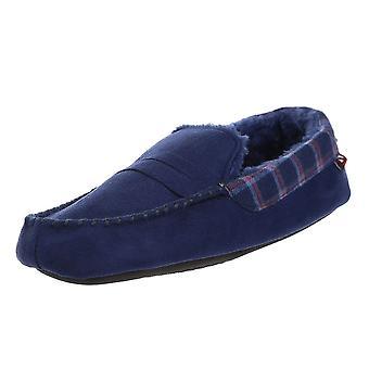 New Men's Designer Ben Sherman Moccasin Slip On Slippers Footwear ShangriLa