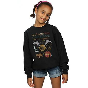 Harry Potter dziewczyn All I Want For Christmas Bluza