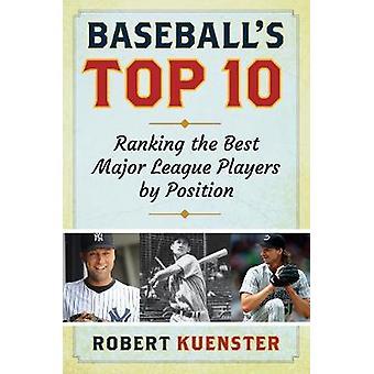 Baseballs topp 10 - Ranking de beste Major League-spillerne etter plassering