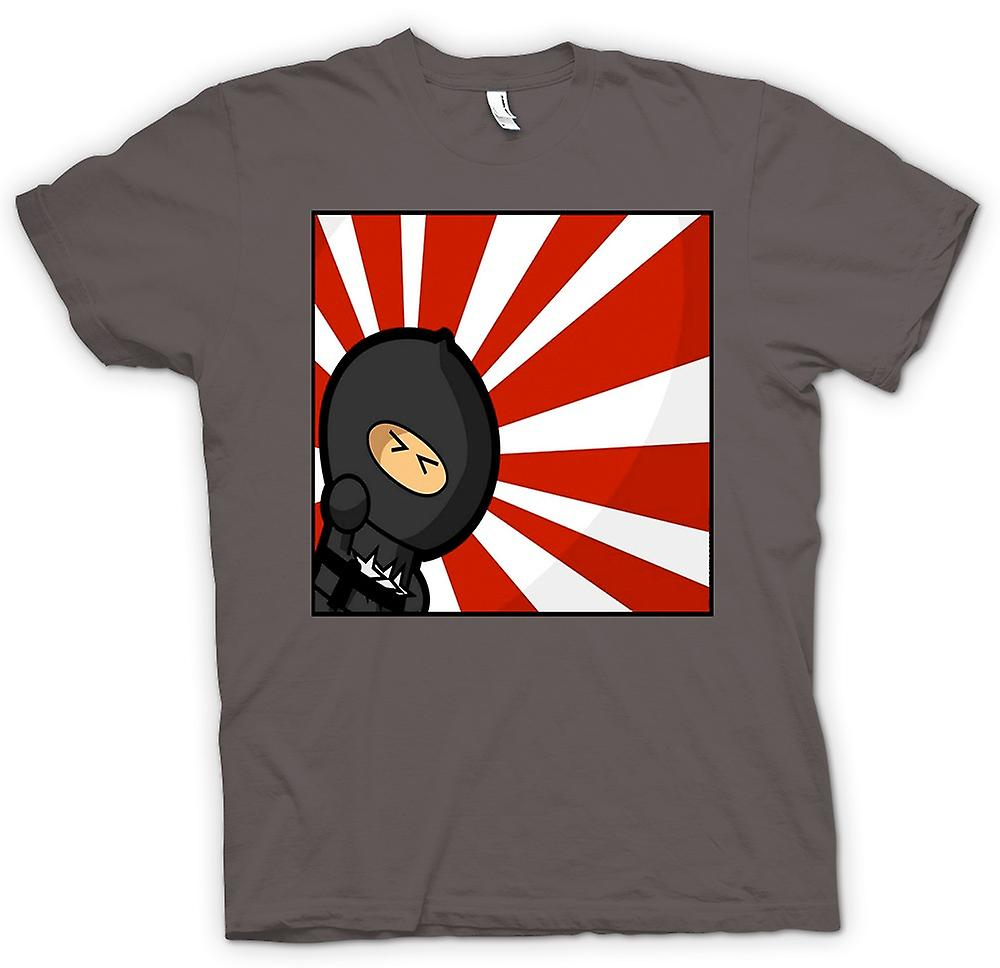 Womens T-shirt - Ninja - Pop Art - Funny