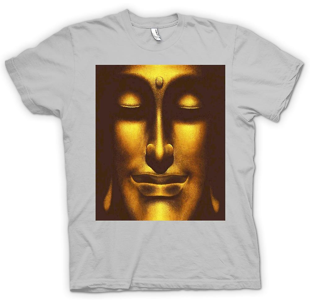 Mens t-shirt-Thai Buddha dorato