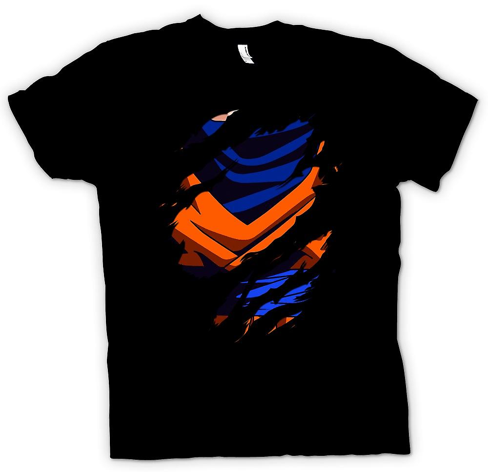 Kids T-shirt - Goku Ripped Design - Dragonball Z Inspired