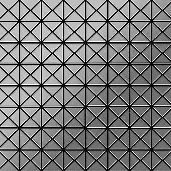 Mosaico metallo solido Acciaio inossidabile ALLOY Deco-S-S-MB