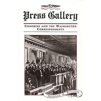 Tryck på Gallery - kongressen och Washington korrespondenterna av Donald R