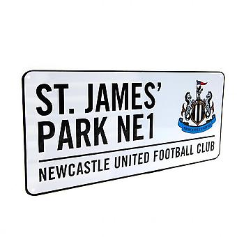 Newcastle United FC Official Street Sign